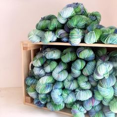 Have you seen the exciting news over at @toft_uk this evening? Two new patterns and a collection of stunning hand dyed yarn - here's the yarn I dyed and it's just gone live on the TOFT website so make sure you pop over and grab some before it's gone
