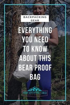 Learn everything you need to know about the Ursack bear bag - what's it made of? How do you use the Ursack? The pros and cons of using the Ursack plus a video of the exact knots you need to know to store your food on your next backpacking trip using the Ursack. #hiking #backpacking #backpackingtips