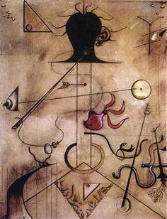 Portrait de Mme. K. - Joan Miro