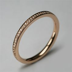Micro Eternity Ring. Click for bigger picture.