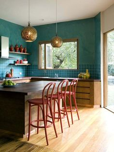 Teal + Rust - 20 Unexpected Color Palettes That Really Work on HGTV