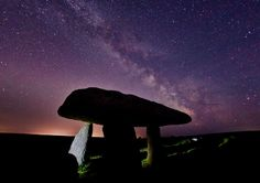 Lanyon Quoit under the Milky Way #milkyWay #nightPhotography #cornwall #megalithic #ancient
