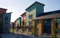 Housing development in Moss Side, awarded best residential scheme in the North West.