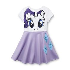 My Little Pony Fit & Flare Dress - Rarity