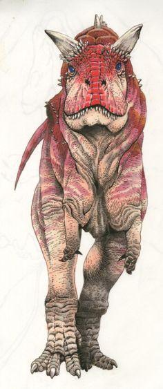 Carnotaurus sastrei by SharkeyTrike.deviantart.com on @DeviantArt