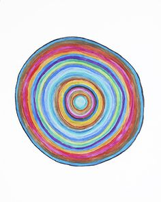 Log slice art prints, like finger print art with words, Bible verses etc Rainbow Painting, Rainbow Swirl, Word Art, Artwork Prints, Bible Verses, Original Artwork, Circles, Finger Print, Drawings