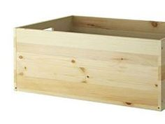 DIY Building Block: IVAR Pine Box from IKEA
