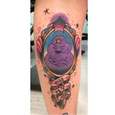 Tattoo inspiration Adventure Time!!  by robfieldertattooer