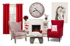"""Senza titolo #5828"" by waikiki24 on Polyvore featuring interior, interiors, interior design, Casa, home decor, interior decorating, Upton Home, Garden Trading, Sun Zero e Mark & Graham"
