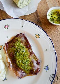 Rockpool's Cafe de Paris Butter Sauce for Steaks