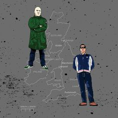 Football Casual : It started in the North? Football Firms, Adidas Classic Shoes, Stone Island Jacket, Outdoorsy Style, British Football, Good Saturday, Football Casuals, Casual T Shirts, Up Styles