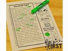 This 5 Step Fluency packet is a fun way to work on fluency!
