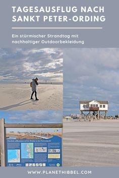 [Tagesausflug nach Sankt Peter-Ording] Ein stürmischer Strandtag mit nachhaltiger Outdoorbekleidung - Planet Hibbel