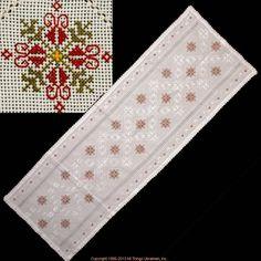 Bargello, Hand Stitching, Panama, Embroidery Patterns, Alphabet, Handmade, Needlepoint, Hardanger, Dots