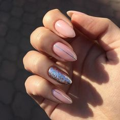 Chrome and pink nails - ChicLadies. Stylish Nails, Trendy Nails, Get Nails, Hair And Nails, Fire Nails, Cute Acrylic Nails, Nagel Gel, Perfect Nails, Nail Manicure