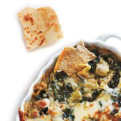 Artichoke, Spinach, and White Bean Dip | CookingLight.com