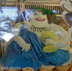 Cake Wrecks - She's planning on using your birthday candles for a waxing later