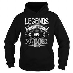 Awesome Tee legends are born in NOVEMBER. Birthday Gift Ideas For Men/women T shirts