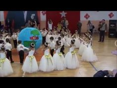 23 nisan kore yelpaze dansı gösterisi - YouTube