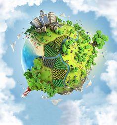 Como ter uma alimentação vegetariana ou vegana e proteger o planeta, combater o aquecimento global e a poluição, e preservar os recursos naturais contra a indústria da carne.