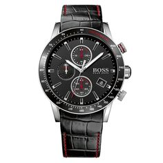 HUGO BOSS WATCHES Hugo Boss Black Tachymetre Watch - Accessories from Brother2Brother UK