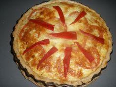 Recetas de cocina fáciles y originales: Tarta de atún y tomate