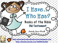 Books of the Bible Game (Old Testament)