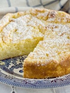 Vegetarian, Low FODMAP & Gluten Free - Lemon rice cake - http://www.ibscuro.com/vegetarian_low_fodmap_recipe_lemon_rice_cake.html