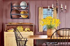 Here's how one couple remodeled their 20th century home to look like an 18th century farmhouse.