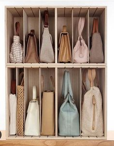 No Closet Space? Check Out These 5 Closet Storage Hacks For Small bedrooms No Closet Space? Check Out These 5 Closet Storage Hacks For Small bedrooms Bedroom Closet Design, Closet Designs, Diy Bedroom, Konmari, Handbag Storage, Storage For Bags, Diy Storage, Bedroom Storage Solutions, Hand Bag Storage Ideas