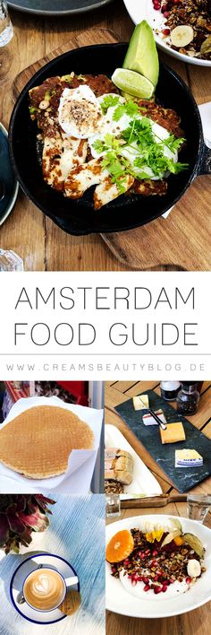 Für mich gibt es nichts Schöneres, als eine neue Kultur mit allen Sinnen und einem vollem Bauch zu entdecken! In meinem Amsterdam Food Guide zeige ich euch die besten Cafés und Restaurants Amsterdams und welche Delikatessen ihr unbedingt probieren müsst!  #amsterdam #amsterdamfood #amsterdamfoodguide #foodguide #amsterdamrestaurant