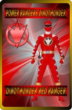 DinoThunder Red Ranger by rangeranime on @DeviantArt