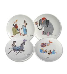 Gorgeous circus tableware