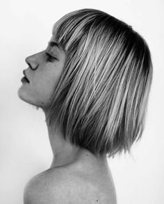 Latest Short Hairstyles with Bangs for 2017 Short Hair With Bangs, Hairstyles With Bangs, Short Hair Cuts, Hairstyle Ideas, Short Straight Hairstyles, Easy Hairstyles, Great Hair, Hair Today, Fine Hair