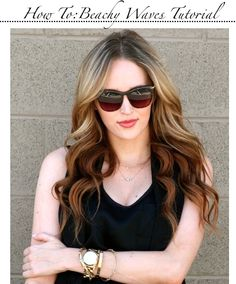Golden Divine Blog- A personal style blog.: How To: Beachy Waves Tutorial