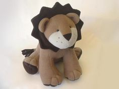 Looking for sewing project inspiration? Check out LION Plush toy PATTERN by member Funky Friends F.
