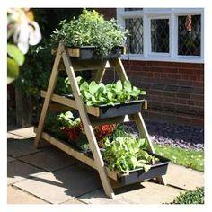 Maxi a-frame vegetable garden accessories diego растения, оз Allotment Gardening, Organic Gardening, Container Gardening, Gardening Tips, Vegetable Gardening, Veg Garden, Garden Beds, Strawberry Planters, Wooden Garden Planters