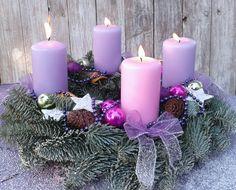4 Advent. Wiehnachtskranz. Рождественский венок. 4 Адвент. Wianek swiateczny