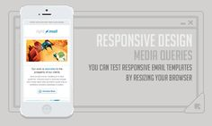 You can test the responsive email templates by resizing browser. For more details visit website : http://www.emailchopper.com/workflow.php