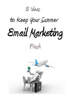 It's entirely possible to catch the attention of your email recipients, as long as you make sure you take the time to rethink some of your email marketing strategies. Summer's a good time to get creative, so here are a few tips to get you started!