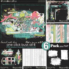 Brand new day {6-Pack Plus FWP} by Kawouette
