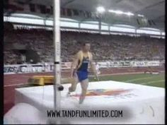 World's Highest Pole Vault!  Sergey Bubka wins gold at the 1993 World Champs.