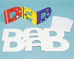This Father's Day, spell it out for Dad to let him know just how much you love him. Homemade cards …