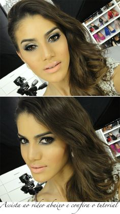 me encantan sus tutoriales!! Camila Coelho - J.Lo Golden globes inspired makeup