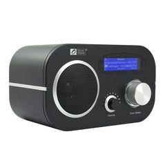 Amazon.com: Ocean Digital Internet Radio WR80 WiFi Wireless Wlan Receiver Ethernet FM Connection Music Media Player Desktop Alarm Clock LCD Display- Black: Home Audio & Theater