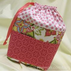 Kids Activity Bag Sewing Tutorial By Nancy Zieman On Cloverusa Toy Storage Bags Free Sewing