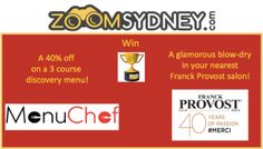 ZoomSydney's Newsletter - April 2016 - III - Zoom Sydney ZoomSydney's latest updates on Sydney's Events and Trends - April 2016 week 3