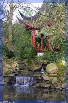 Chinese tuin, Blijdorp, Nederland