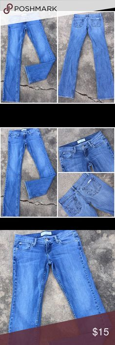 BUI-YAH-KAH Super Low Cut Denim Blue Jeans Sz 5 BUI-YAH-KAH Super Low Cut Denim Blue Jeans Sz 5. Waist 30 inches. Front rise 6.5 inches. Inseam 35 inches. Back rise -10 inches. bui yah kah Jeans
