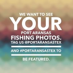 We want to see your Port Aransas FISHING photos! Tag us @portaransastex or use #portaransastex in your best pics to be featured.  #portaransas #portaransastx